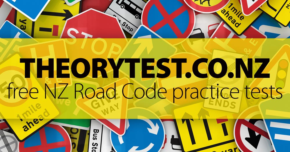 FREE NZ Road Code Practice Test [2019]
